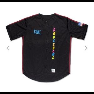 Ethik x Dope$hows Jersey, Black